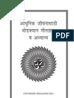 Gita Philosophy in Marathi