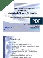 ASSE IAQ Presentation - 041510