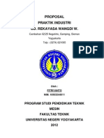 Proposal Praktek Industri (UNY)