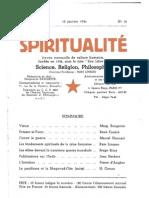 Spiritualité « Etre Libre » N° 14 (Janvier 1946)