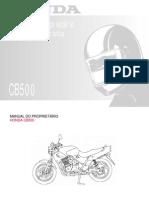 Honda Cb500 Propretario