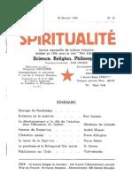 Spiritualité « Etre Libre » N° 15 (Février 1946)