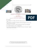 Appunti di probabilità e statistica [2012, 144p]
