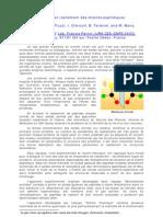 Chiralité et repliement des chaînes peptidiques