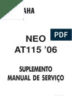 Yamaha Neo Suplemento Manual de Serviço