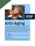 Anti Aging with Serrapeptase