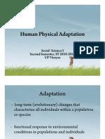 Human Physical Adaptation