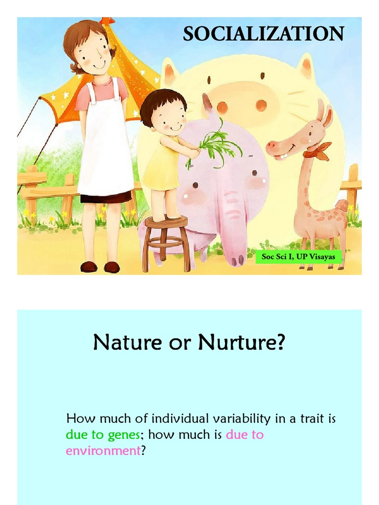 nature or nurture which is more When it comes to the nature vs nurture debate, which camp do you sit in well, you're both right because it's a draw the study, published in nature geneti.