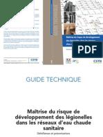 2012.03.14.Guide Technique CSTB Maitrise Legionelles ECS