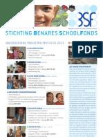 Benares School Nieuwsbrief 2013