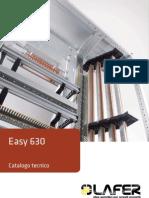 Catalogo Easy 630 tecnico