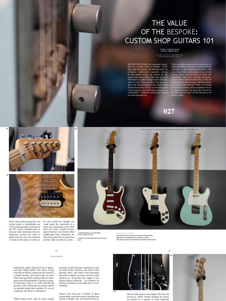 Jonty Young Article | Guitars | Bass Guitar