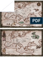 Dark Ages Vampire - Europe Map