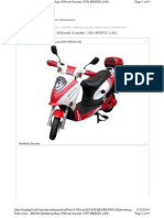 Baja Parts Catalog BE500 Scooter VIN Prefix L4G