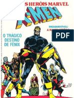 HQ Gibi Marvel Grandes Herois XMen Fenix