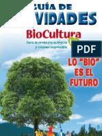 Guía Actividades BioCultura BCN  2013