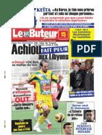 LE BUTEUR PDF du 15/03/2009