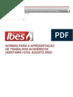 Normas_abnt_14724 Ibes Facsal