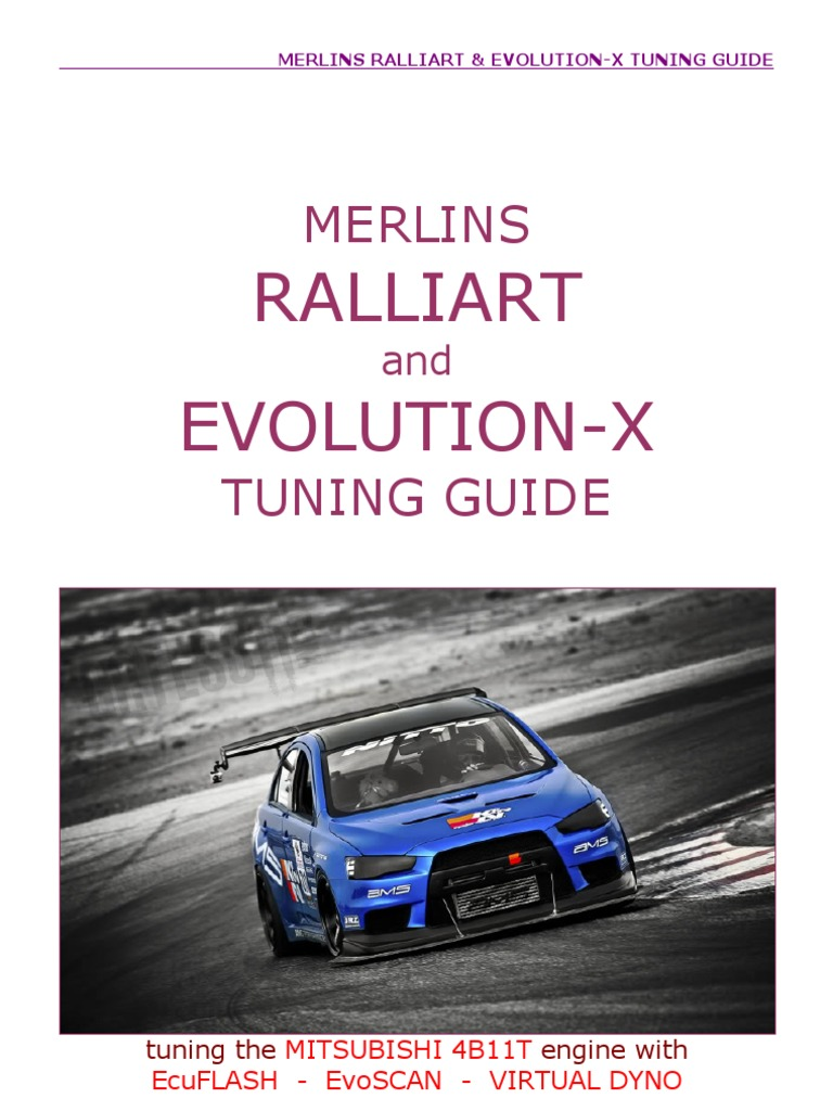 merlins ralliart evox tuning guide v2 0 turbocharger computer file rh scribd com