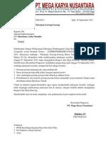 Surat Instruksi 1