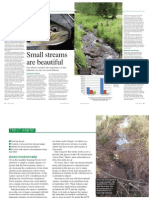 Small streams are vital - by Guy Mawle in 2013 Wild Trout Trust annual journal