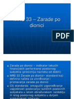 MRS-33 - Zarade Po Dionici