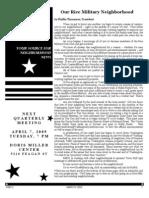 Rice Military News 0309