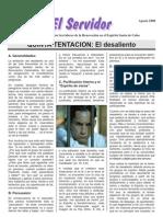 6. Quinta Tentacion El Desaliento
