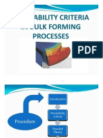 Work Ability Criteria in Bulk Forming Processes