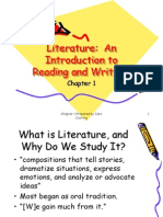 Why We Study Literature