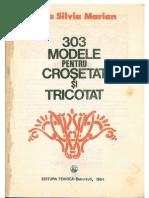 303 Modele de Crosetat Si Tricotat