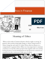 Ethics in Finance by Anita ppt