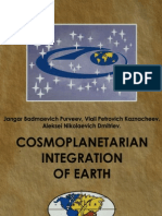 Cosmoplanetarian integration of earth – the great cross of continents (Kaznacheev, Vlail Petrovich)