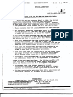US Government Document Summarising Contacts with Taliban as of July 2001
