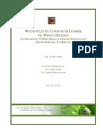 WPC Lumber vs WPC Decking