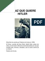 La Paz Que Quiere Hitler
