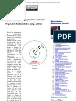 Eletricidade e Magnetismo (Básico) _ Propriedade fundamental do campo elétrico _ e-física