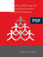 HRM, Employee Well-being and Organizational Performance