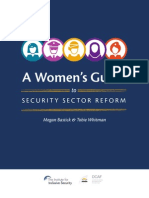 A Women's Guide to Security Sector Reform