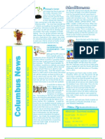 April 2013 Columbus Elementary Newsletter