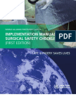 Manual Surgical Safety Checklist 1st Edition