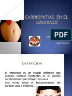 Cardiopatias en El Embarazo