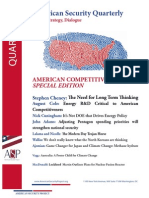 American Security Quarterly - April 2013