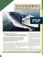 Wartsila SP a Tw SD Container Feeder
