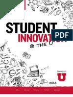 Student Innovation Report 2013