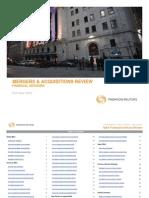 4Q2012 MA Financial Advisory Review