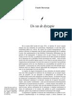 UN CAS de DYSZAPIE - Claude Bursztejn