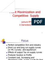 Chapter 8 Profit Maximization &Cmptitive Supply