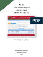 Modul Sistem Informasi Koperasi
