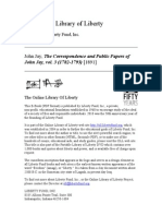 Jay, The Correspondence and Public Papers of John Jay, Vol. 3